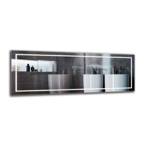 Motha Bathroom Mirror Metro Lane Size: 40cm H x 110cm W
