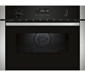 NEFF N50 C1AMG84N0B Built-in Combination Microwave - Stainless Steel, Stainless Steel