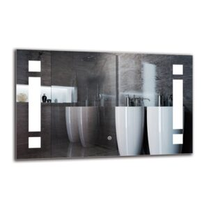 Natchez Bathroom Mirror Metro Lane Size: 50cm H x 80cm W