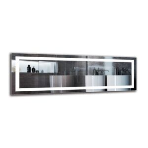 Olof Bathroom Mirror Metro Lane Size: 40cm H x 120cm W