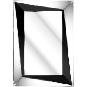 Phillips Bevelled Sloped Mirror Canora Grey
