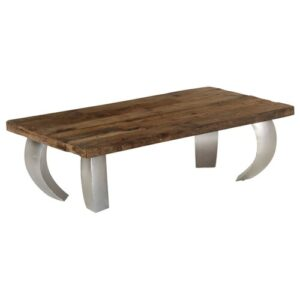 Poole Coffee Table Mercury Row Size: H35 x L110 x W60cm