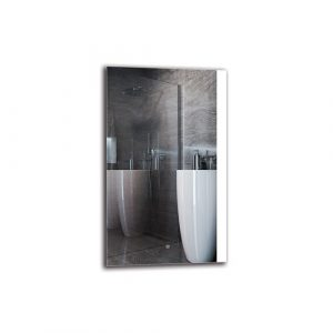 Sasun Bathroom Mirror Metro Lane Size: 100cm H x 60cm W
