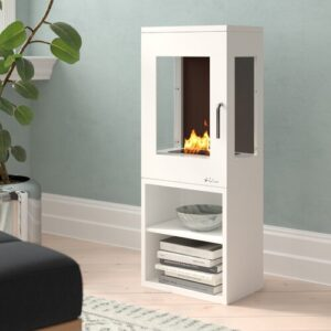 Saul Bio-Ethanol Fireplace Belfry Heating
