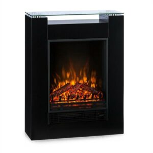 Studio Electric Fireplace Klarstein Colour: Black