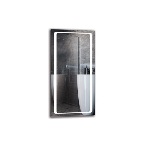 Suren Bathroom Mirror Metro Lane Size: 100cm H x 50cm W