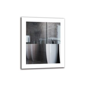 Tatig Bathroom Mirror Metro Lane Size: 60cm H x 50cm W