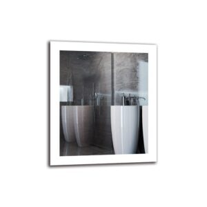 Tatig Bathroom Mirror Metro Lane Size: 70cm H x 60cm W