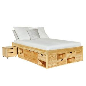 Thomason European Kingsize Bed with Storage Isabelle & Max