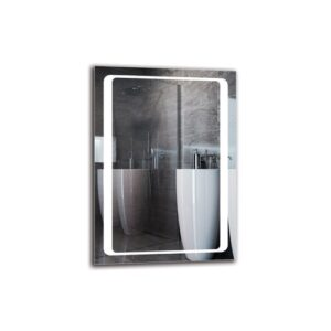 Toros Bathroom Mirror Metro Lane Size: 70cm H x 50cm W