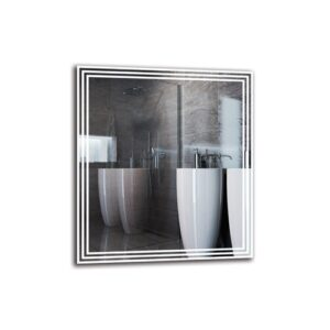 Vaghinag Bathroom Mirror Metro Lane Size: 90cm H x 80cm W