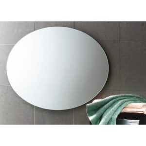 Vanessa Oval Polished Edge Mirror Belfry Bathroom