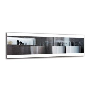 Vanig Bathroom Mirror Metro Lane Size: 40cm H x 120cm W