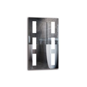 Varant Bathroom Mirror Metro Lane Size: 70cm H x 40cm W