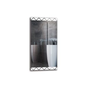 Vart Bathroom Mirror Metro Lane Size: 100cm H x 50cm W
