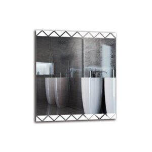 Vart Bathroom Mirror Metro Lane Size: 80cm H x 70cm W