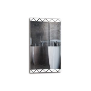 Vart Bathroom Mirror Metro Lane Size: 90cm H x 50cm W
