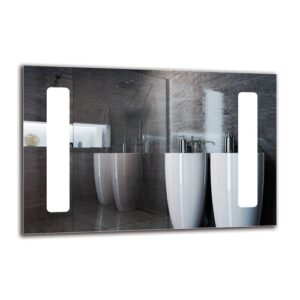 Vazrig Bathroom Mirror Metro Lane Size: 40cm H x 60cm W