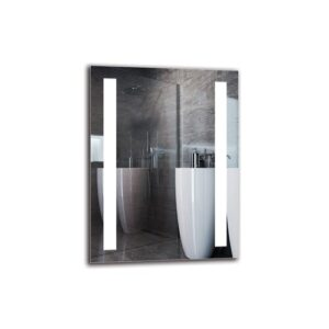 Vosdan Bathroom Mirror Metro Lane Size: 80cm H x 60cm W