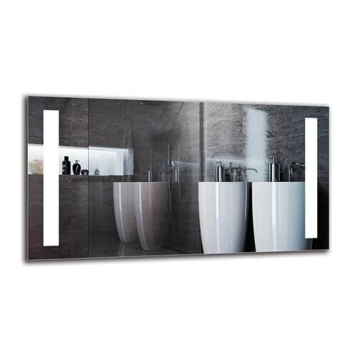 Vosgan Bathroom Mirror Metro Lane Size: 60cm H x 110cm W