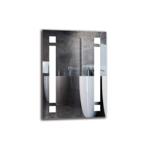 Vrej Bathroom Mirror Metro Lane Size: 70cm H x 50cm W