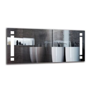 Vrtanes Bathroom Mirror Metro Lane Size: 60cm H x 130cm W