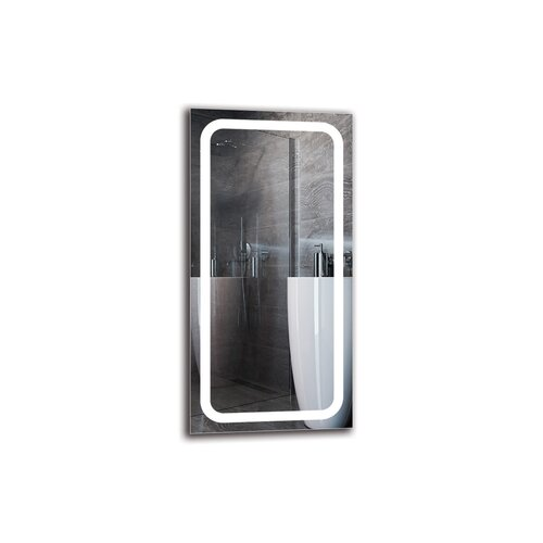 Vruyr Bathroom Mirror Metro Lane Size: 100cm H x 50cm W
