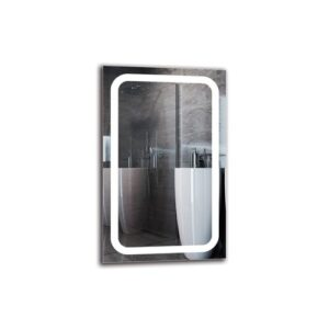 Vruyr Bathroom Mirror Metro Lane Size: 80cm H x 50cm W