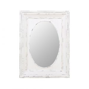Wall Mirror ClassicLiving Finish: Vintage white