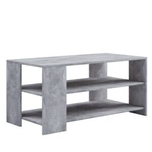 Wentworth Coffee Table Mercury Row Size: 47cm H x 100cm W x 50cm D, Colour: Grey