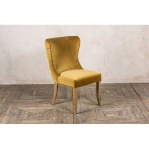 Wirriana Upholstered Dining Chair Rosalind Wheeler Upholstery Colour: Mustard