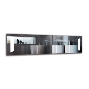 Yeprad Bathroom Mirror Metro Lane Size: 40cm H x 140cm W