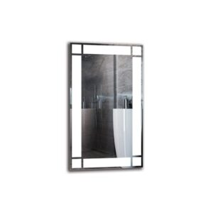 Yervant Bathroom Mirror Metro Lane Size: 70cm H x 40cm W