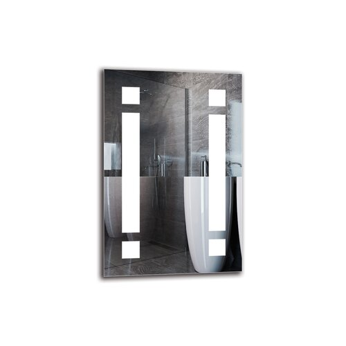 Yetuart Bathroom Mirror Metro Lane Size: 60cm H x 40cm W