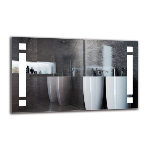 Yeznig Bathroom Mirror Metro Lane Size: 60cm H x 100cm W