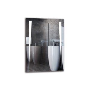Yezr Bathroom Mirror Metro Lane Size: 100cm H x 70cm W
