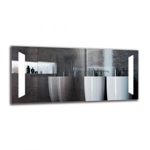 Zareh Bathroom Mirror Metro Lane Size: 50cm H x 110cm W