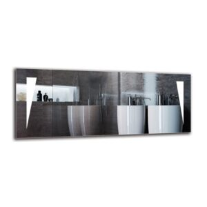 Zoravar Bathroom Mirror Metro Lane Size: 40cm H x 100cm W