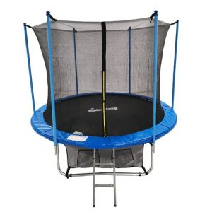 10' Backyard: Above Ground Trampoline with Safety Enclosure GALACTICA