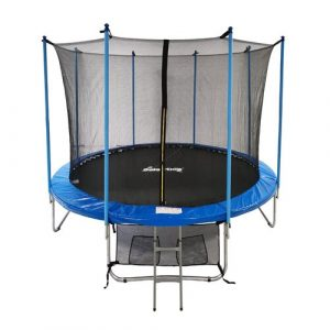 12' Backyard: Above Ground Trampoline with Safety Enclosure GALACTICA