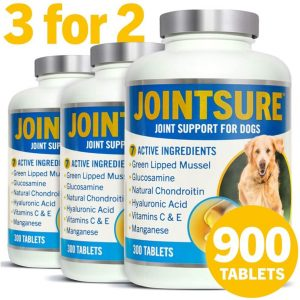(300 Tablets (3 For 2)) JOINTSURE Joint Support Supplements For Dogs