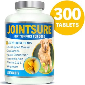 (300 Tablets) JOINTSURE Joint Support Supplements For Dogs