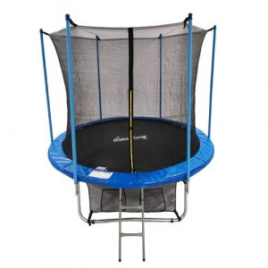8' Backyard: Above Ground Trampoline with Safety Enclosure GALACTICA