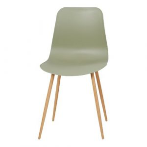 Amabella Dining Chair (Set of 2) Mack + Milo Colour: Green