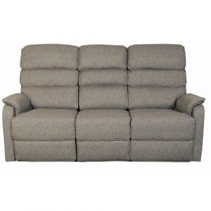 Aubagne 3 Seater Reclining Sofa Lark Manor Upholstery Colour: Charcoal