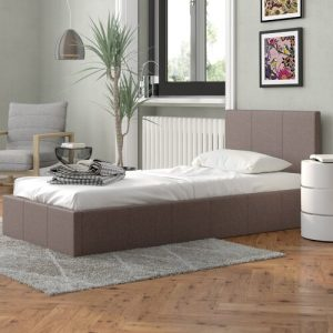 Berlin Upholstered Ottoman Bed Home & Haus Size: Single (3')