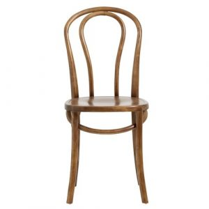 Bistro Solid Wood Dining Chair Nordal