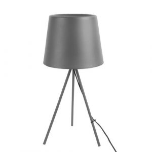 Classy 57cm Tripod Table Lamp Leitmotiv Base Colour/Finish: Grey