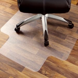 Cleartex Ultimat Chair Mat Smooth Back for Hard Floor Surfaces Floortex