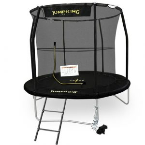 Deluxe Combo Backyard Trampoline with Safety Enclosure JumpKing
